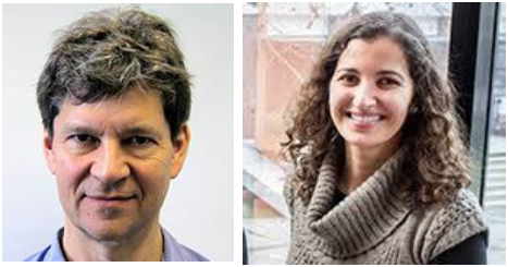 Figure 4 - Prof. Robin Lovell-Badge (left) and Dr. Vanessa Borges Badge (right)